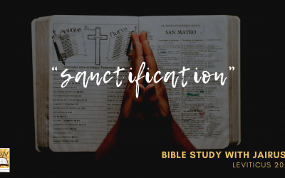Bible Study with Jairus – Leviticus 20