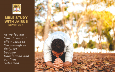 Bible Study with Jairus – Numbers 3